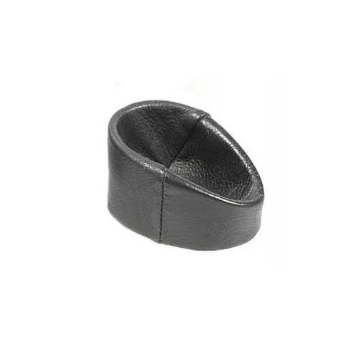 Leather pipe stand, for car