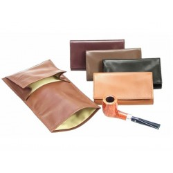 "Borsa portatabacco in vitello ""Roll up"" 2 tasche"