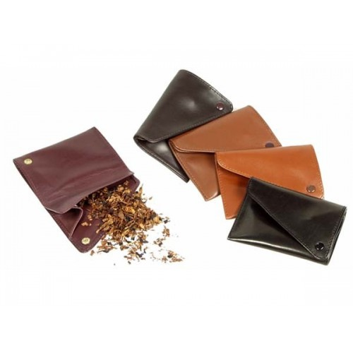 "Leather pouch ""west pocket"" for tobacco"