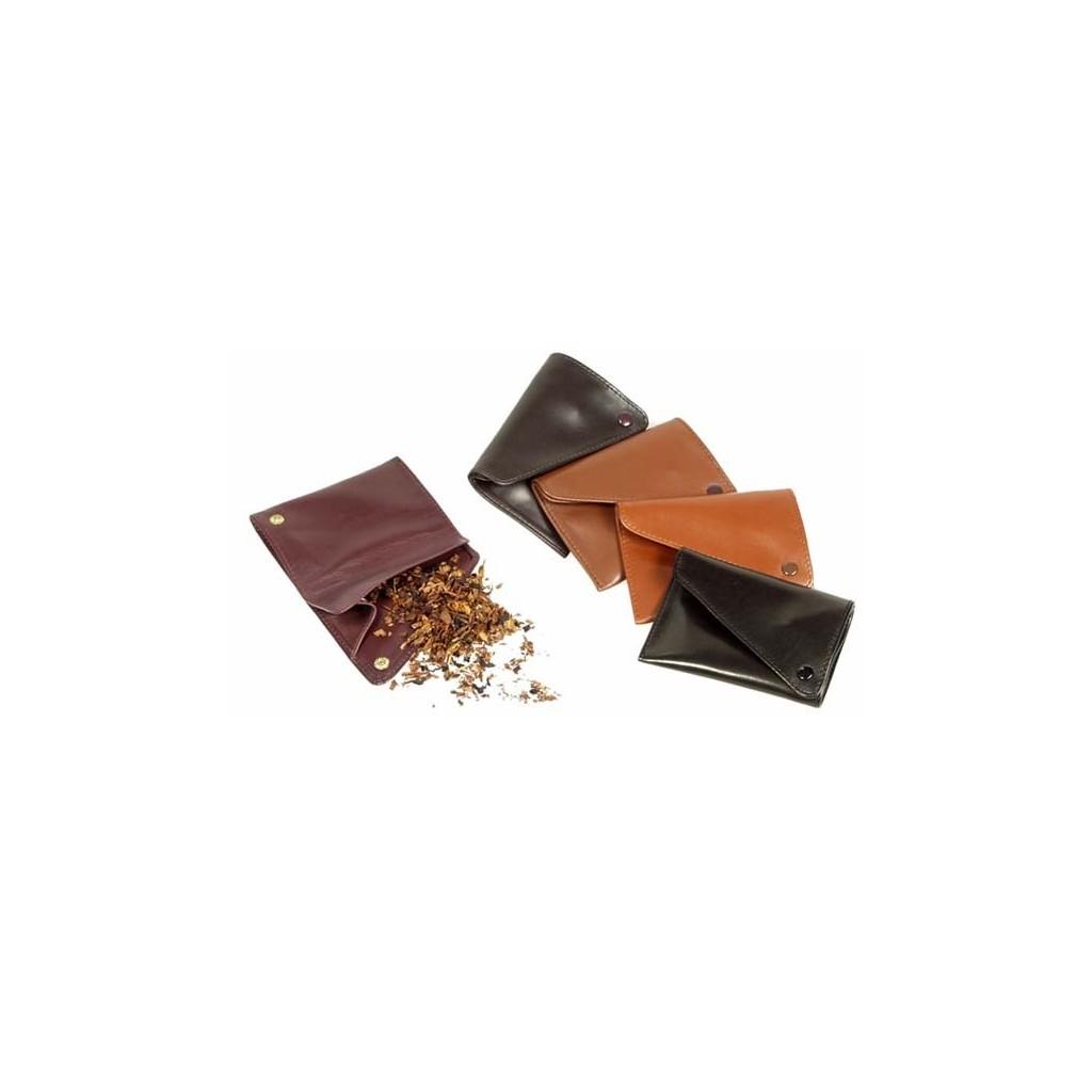 """Sac """"west pocket"""" pour tabac en cuir"""