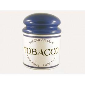 """Vaso porta tabacco Savinello """"Kilo"""" in ceramica - Blu"""