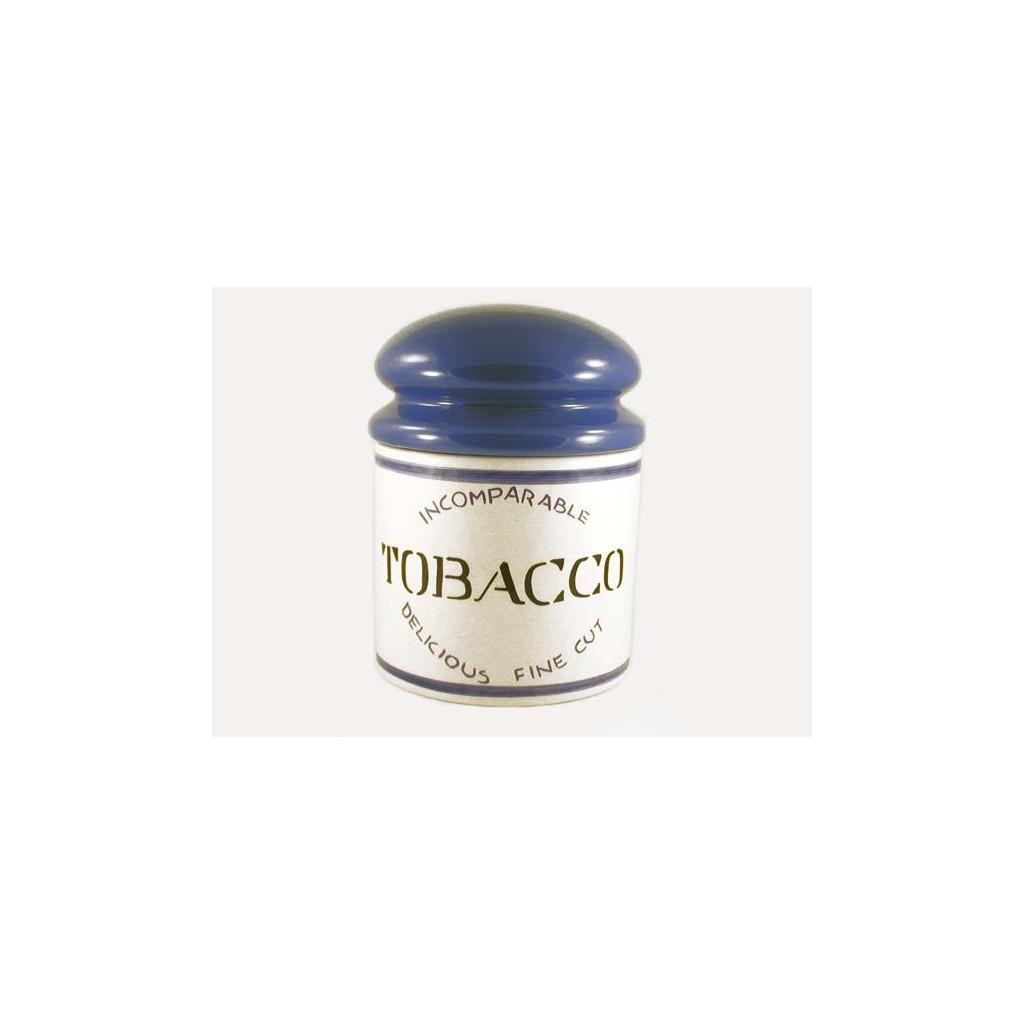 """Savinelli """"Kilo"""" Ceramic Tobacco jar - blue"""