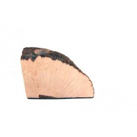 Placca di radica extra-extra preforata curva