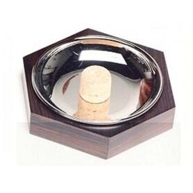 Posacenere battipipa esagonale in palissandro