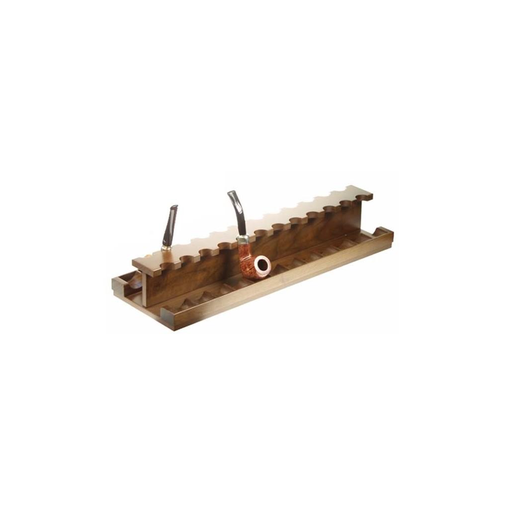 Pose-pipes pour 24 pipes en noix