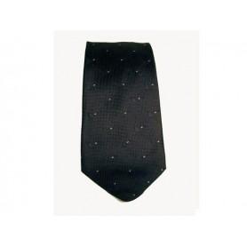 Cravate Castello en soie 100% - Noir