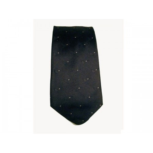 Castello Tie 100% Silk - Black