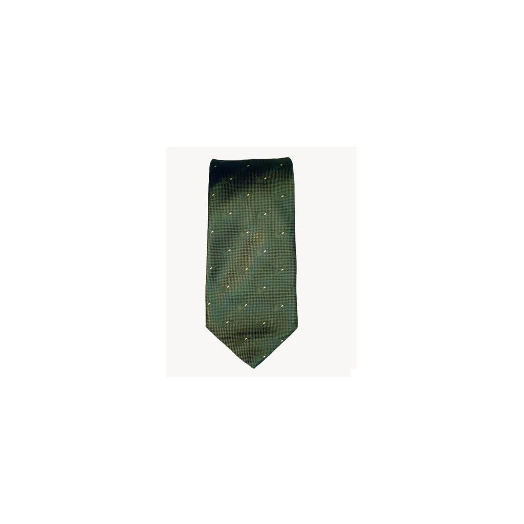 Cravate Castello en soie 100% - Vert