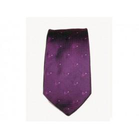Castello Tie 100% Silk - Violet