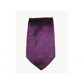 Cravate Castello en soie 100% - Viola