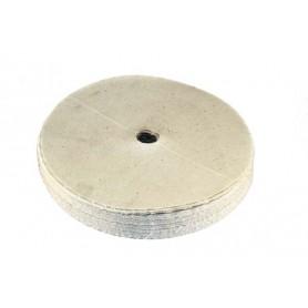 Paño de algodon suave de diametro 150 mm