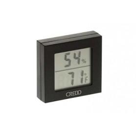 Termo-Igrometro digitale nero Credo