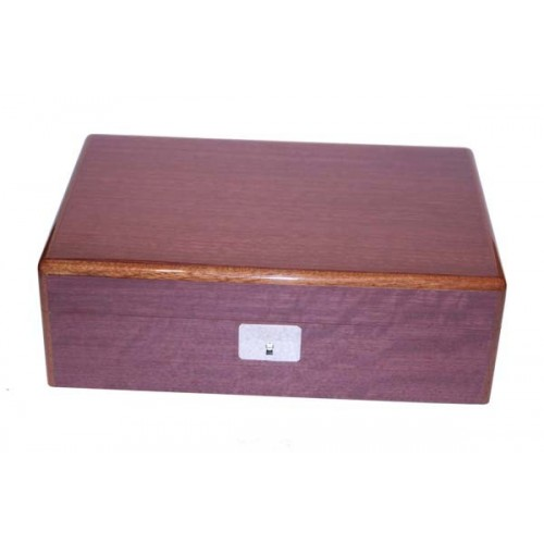"Humidor in Palissadro ""viola"" con chiave"