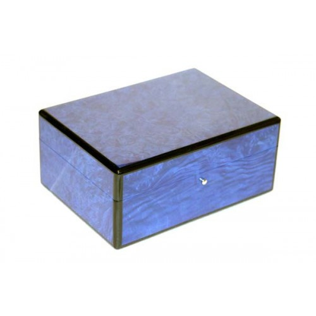 Humidor in blue briarwood