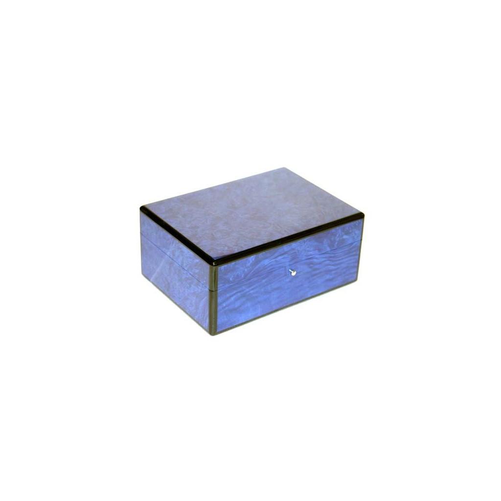 Humidor in radica blu per toscani
