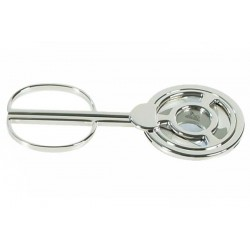 3 blades silver-plated table cigar cutter
