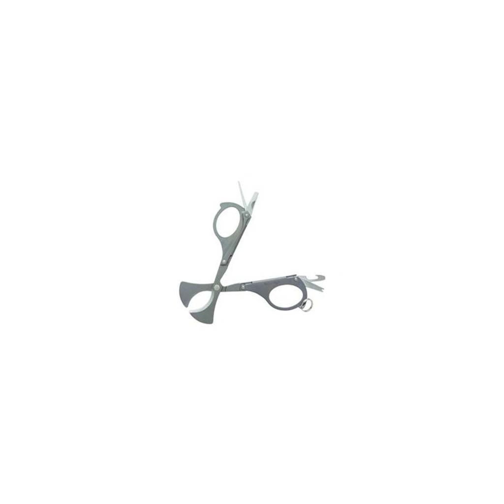 Xikar tagliasigari a forbice pieghevole acciaio satinato