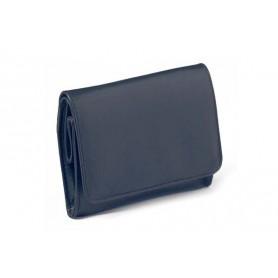 """Peterson Avoca """"Box"""" sac pour tabac en cuir bleus"""
