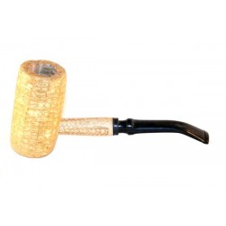 "Pipa Missouri Meerschaum in pannocchia ""Bent General"""