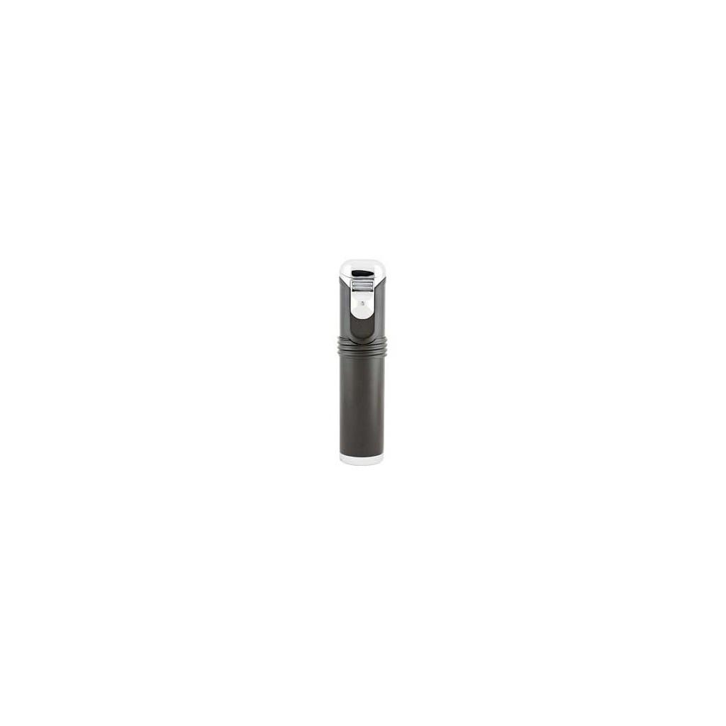 EuroJet table lighter with 5 jet flame - black
