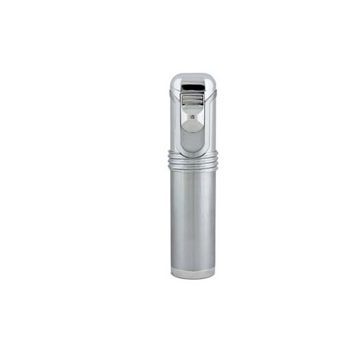 EuroJet table lighter with 5 jet flame - chrome