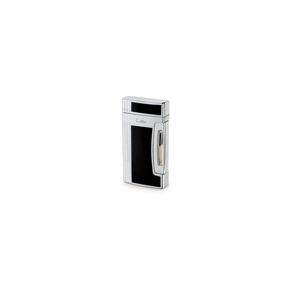 Colibri Jetflame Lighter Flin Jet - black laquer and polished chrome finish