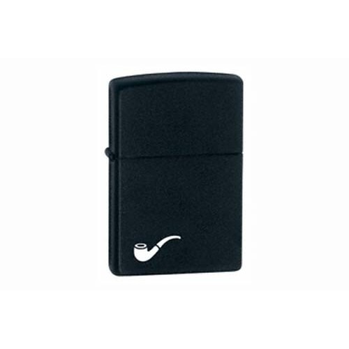 Zippo for pipe - black ice