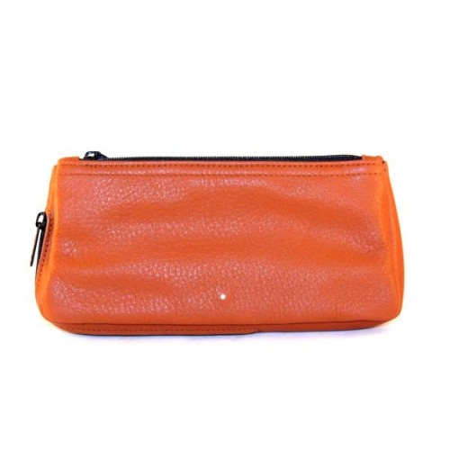 Alfred Dunhill Combination Terracotta sac pour tabac et pipe en cuir