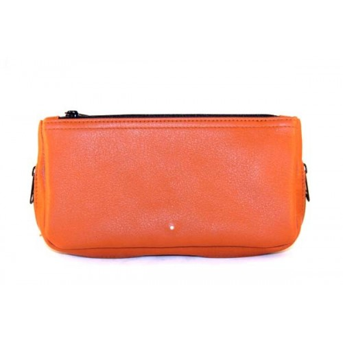 Alfred Dunhill Terracotta Combination pouch for 2 pipes and tobacco