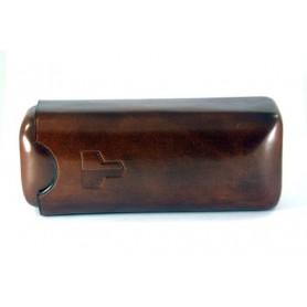 Castello sac pour pipe en cuir