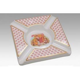 Posacenere da tavolo Romeo Y Julieta in ceramica
