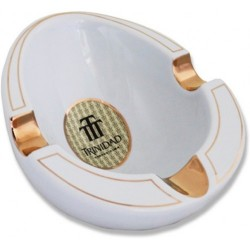 Trinidad ceramic cigar ashtray