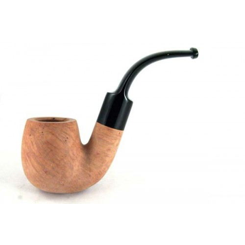 Savinelli grezza 614 - Full bent billiard