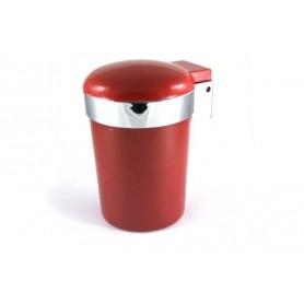 Coche cenicero con luz LED - Rojo