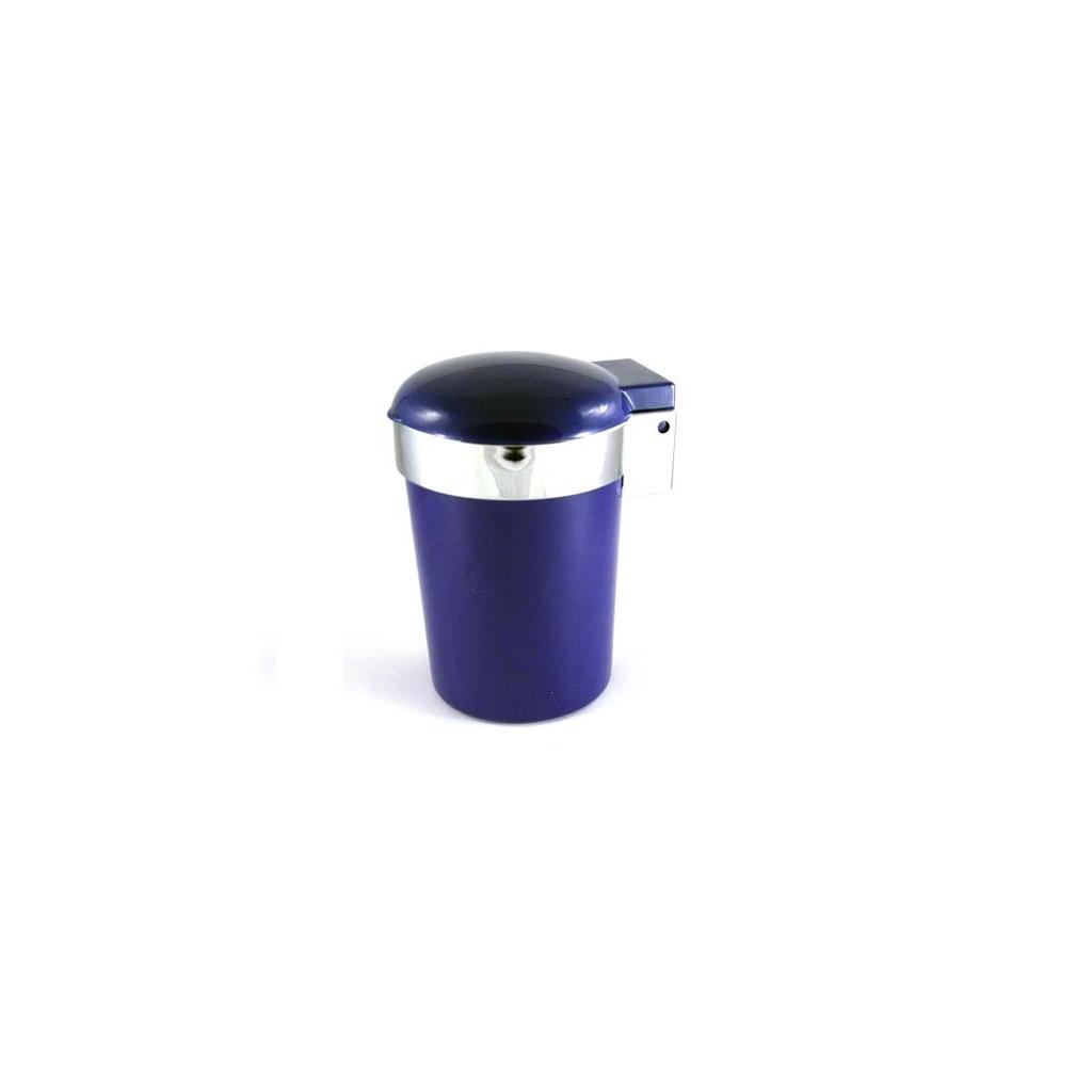 Coche cenicero con luz LED - Azul