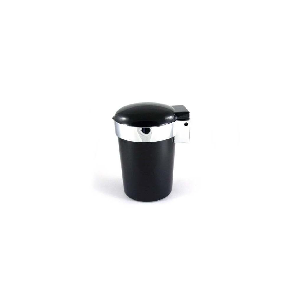 Coche cenicero con luz LED - Negro
