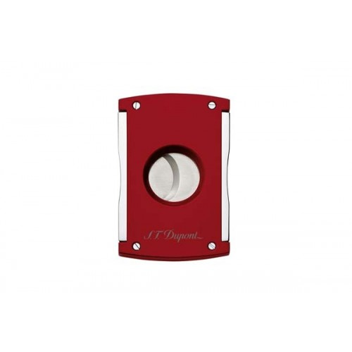 S.T.Dupont cigar cutter MaxiJet Red Lacquer and chrome finishes