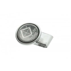 Clips para billetes silver plate - 100 Lire Marconi