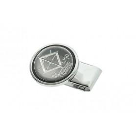 Clips para billetes silver plate - 100 Lire Marconi