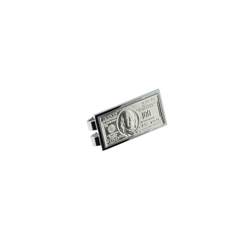 Fermasoldi argentato - 100 USD $
