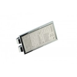 Silver plate Money clip - 500 EUR