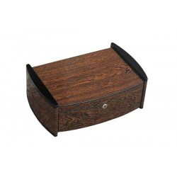 "Humidor ""Catamaran"" in Ironwood lucido con igrometro digitale"