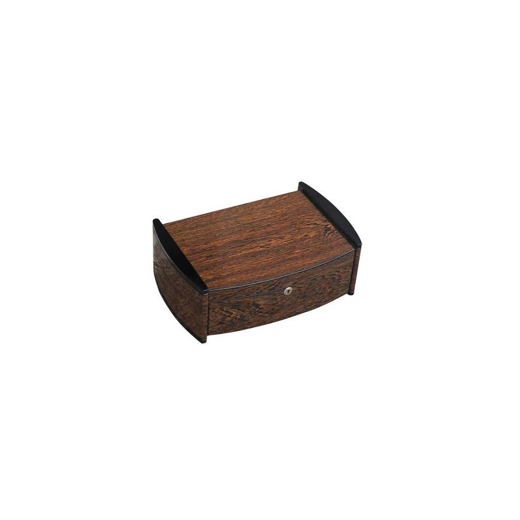 """Humidor """"Catamaran"""" en ironwood con higrómetro digital"""