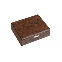 Humidor in Ironwood polished for 25 cigars
