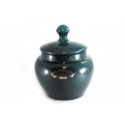 Savinelli Ceramic Tobacco jar - green