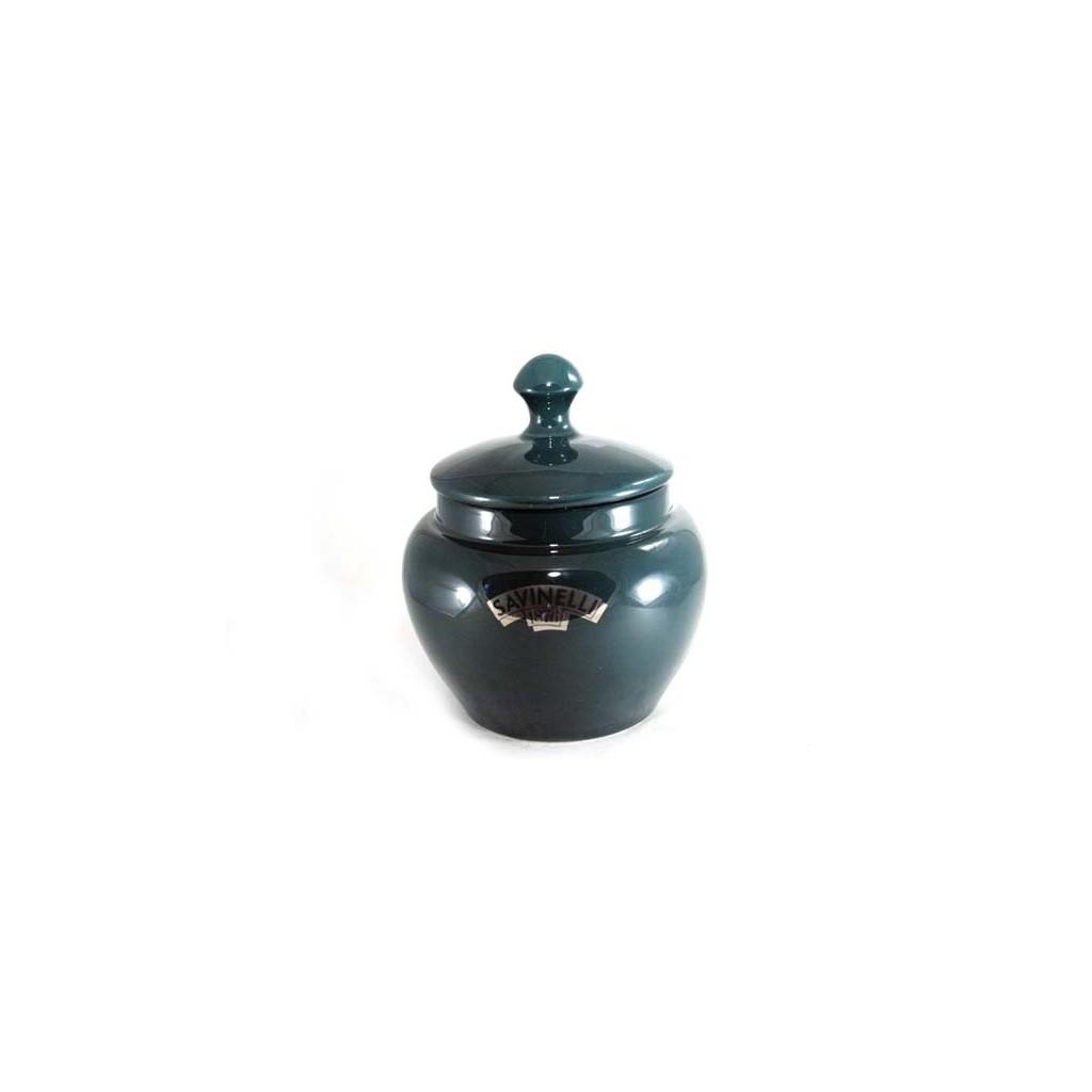 Savinelli Ceramic Tobacco jar - green