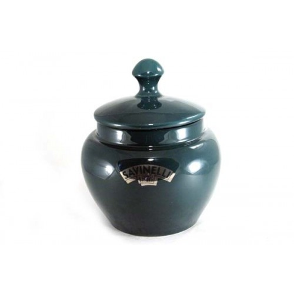 Vaso porta tabacco Savinelli in ceramica - Verde