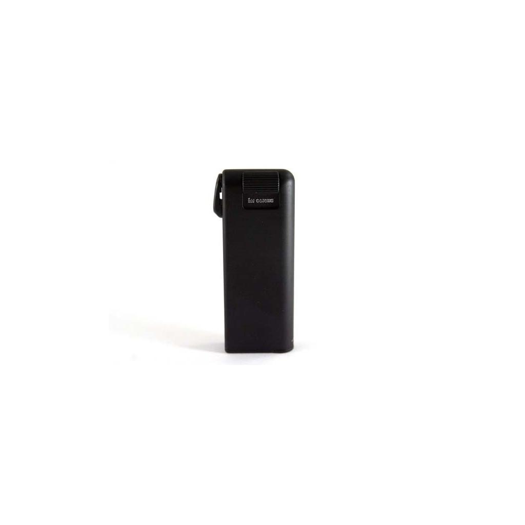 Mechero piezzo-eléctrico Savinelli Pipemaster - Satinado negro