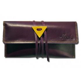 Bolsa en piel para tabaco Mava - Purple Haze
