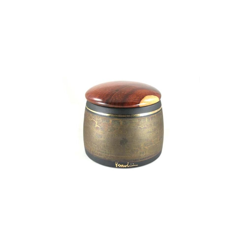 Jarros porta tabaco Arcadia en cerámica y amboina